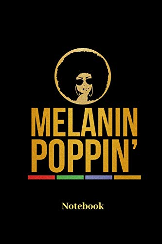Melanin Poppin Notebook: Liniertes Notizbuch für Latinos, Latinas, farbige  Menschen, hairstyle und Afro Fans - Notizheft Klatte für Männer, Frauen und