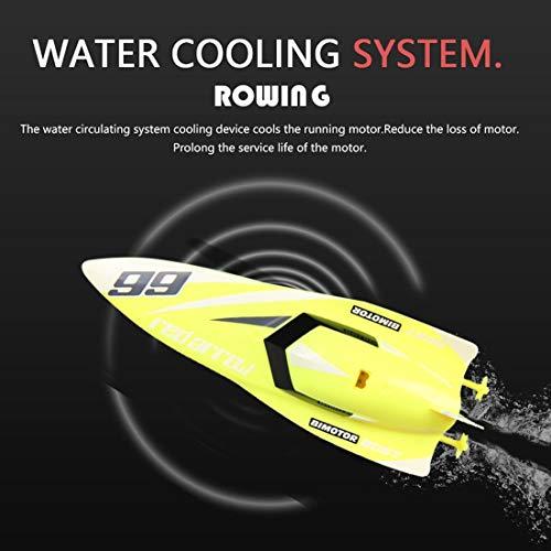 euertes Boot 3312 m, 4 Kanäle, 2,4 GHz, Mini Racing Boat RC Speedboat Kinder Spielzeug mit Fernbedienung ()