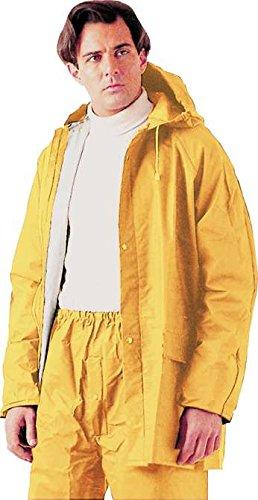 Impermeabile da Lavoro Tg. XL Giallo in Pvc Pesante Giacca + Pantaloni Maurer