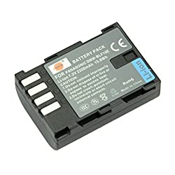 DSTE DMW-BLF19E Replacement Li-ion Battery for Panasonic Lumix DMC-GH3 GH3A GH3AGK GH3GK GH3H GH3HGK GH4 GH4H Camera