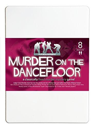 Asesinato en la pista de baile 8reproductor asesinato misterio cena juego