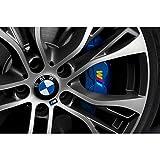Autodomy Autocollants de BMW Étrier de Frein Pack de 4 unités pour la Voiture (Or)