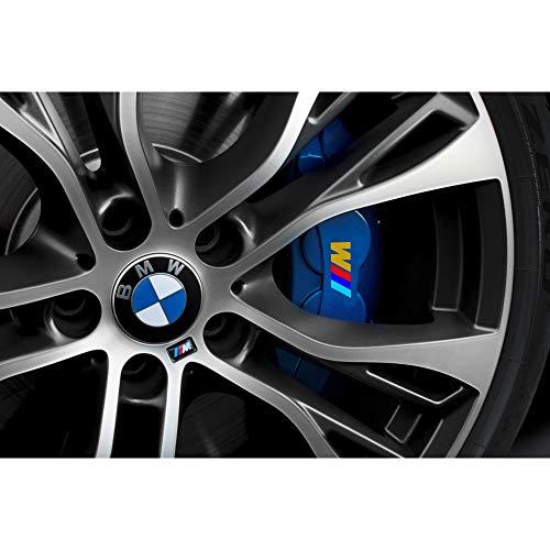 Autodomy BMW Bremsenaufkleber Bremsen Bremssattel Aufkleber Paket 4 Stück für Auto (Gold)