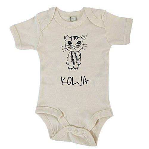 jollipets Baby Bodysuits - Kolya - 100% Bio - Variant: Animals Zoo