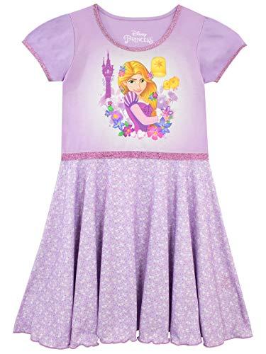 Disney Mädchen Rapunzel verföhnt Nachthemden Violett 140