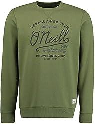 O 'Neill Type Crew N9294, hombre, Type crew sweatshirt, Camp Green