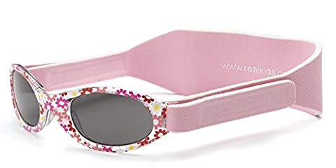 Real Kids Shades My First Lunettes de Soleil Paquerette Rose