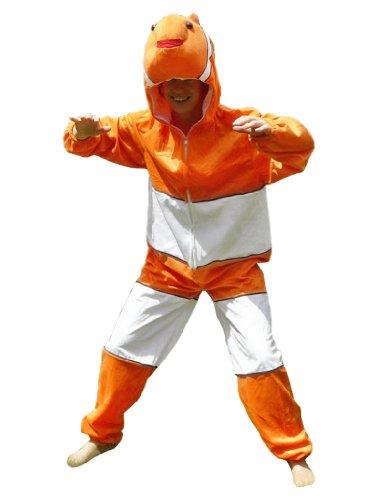 Fisch-Kostüm, J22 Gr. XL, Für hoch gewachsene Männer und Frauen! Clown-Fisch Kostüme Fische als Faschings- Karnevals Fasnachts-Geschenk, Faschings-Kostüme für Erwachsene, ()