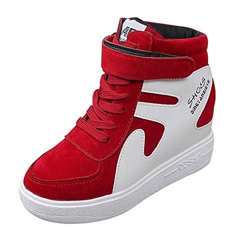 (Ears Damenschuhe Schnee Stiefel Tuch Schuhe Worker Boots Laufschuhe Atmungsaktiv Turnschuhe Hiking Schuhe Erhöht beiläufige einzelne Schuhe flach mit wasserdichter Farbabstimmung)