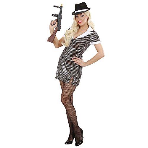 Kostüm Gangster Girl - Widmann 89061 - Erwachsene Kostüm Gangster Girl, Kleid, S
