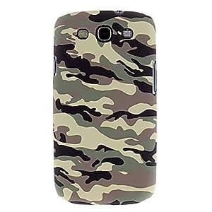 CL - Motif Couverture thermique de transfert d'impression de camouflage pour Samsung Galaxy I9300 S4