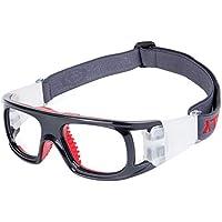 Gafas de Deporte Unisex Ajustable Gafas de Seguridad de protección Baloncesto Gafas
