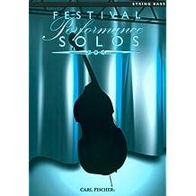 Festival Performance Solos, Double Bass Part, ed. Balent