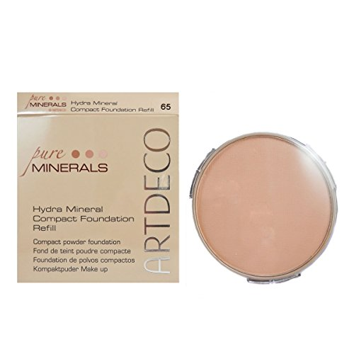 Artdeco Hydra Mineral Compact Foundation refill, Farbe Nr. 65, medium beige, 1er Pack (1 x 1 Stück) (Compact Powder Foundation)
