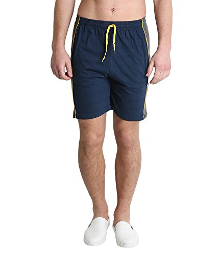 Zacharias Men Cotton Shorts  available at amazon for Rs.149