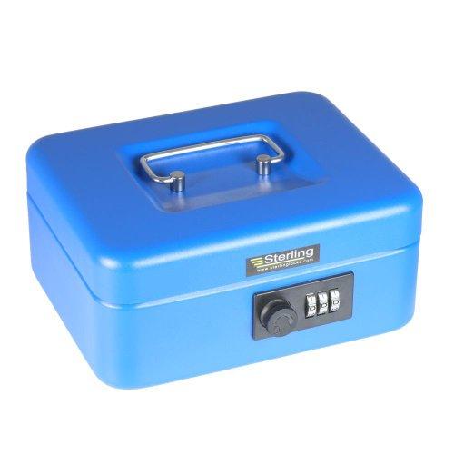 Sterling CB02C - Cassetta portavalori senza chiave, con...