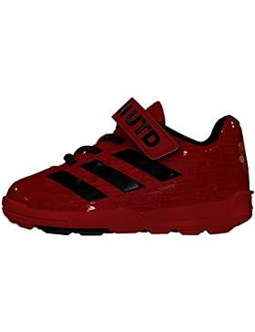 Adidas MUFC El I, Zapatos de Primeros Pasos para Bebés