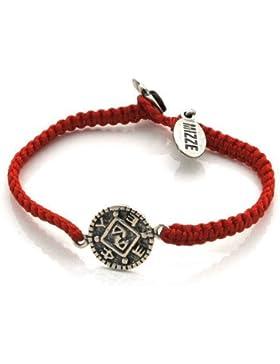 Mizze hergestellt für Pluspol Amulett auf Veränderungen Luck Jewelry Armband handgewebt rot für Damen