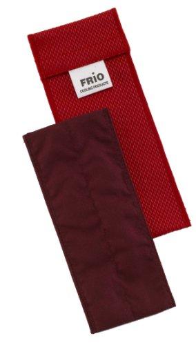 Frio Einzel Kühltasche für Insulin, 6.5 x 18 cm, Rot