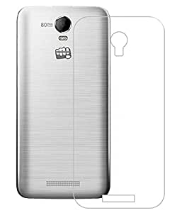Red Knight Micromax Canvas Juice 2 AQ5001 Clear Transparent TPU Back Cover Case