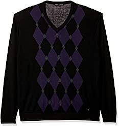 Arrow New York Mens Sweater (8903952609692_AKMY8381_XX-Large_Black)