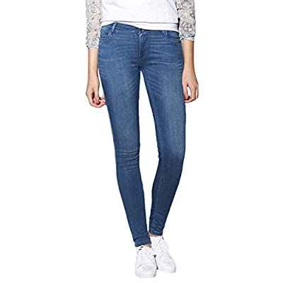 adidas NEO Womens Super Skinny Denim Jeans - Blue