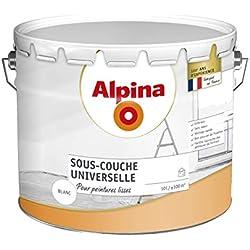 ALPINA Sous-couche Universelle - Mat Blanc 10L 100m²