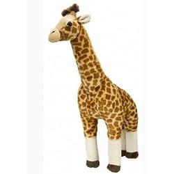 Wild Republic - Peluche Cuddlekins jirafa estando de pie, grande, 64 cm (12386)