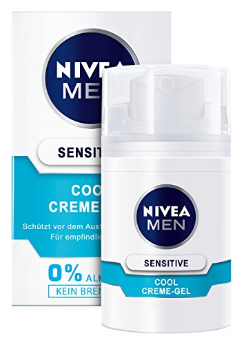 Nivea Men Sensitive Cool Creme-Gel, 1er Pack (1 x 50 ml)