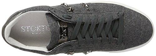Stokton Sneaker, Scarpe da Ginnastica Basse Donna Grigio