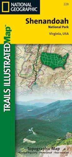 Shenandoah Nationalpark, VA: 1:100000 (Trails Illustrated - Topo Maps USA) -