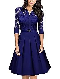 Amazon.es  vestido años 50 - XL   Mujer  Ropa 378b9804484a