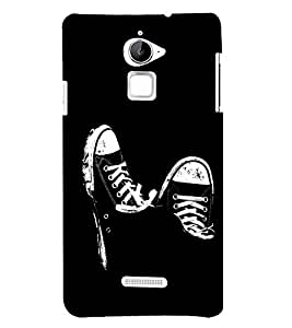 FUSON Male Sneakers Shoes 3D Hard Polycarbonate Designer Back Case Cover for Coolpad Note 3 Lite :: Coolpad Note 3 Lite Dual SIM