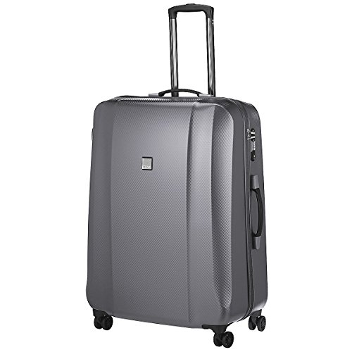 Titan 816405 Xenon Deluxe 4 wheel Trolley M, graphit