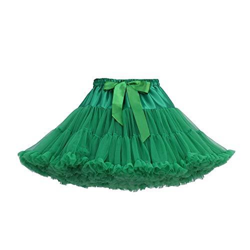 Damen Petticoat Tutu Unterrock Ballett Tüllrock Kostüm Rüsche Erwachsene Tanzkleid Abendkleid Brautkleid Gelegenheit Zubehör Minirock Party Hochzeit Sommer Kleid - Erwachsenen Ballett-tutu
