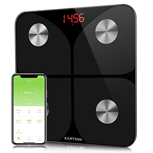 KAMTRON Smart Body Fat Scales - ...