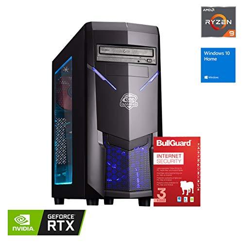 ONE Gaming Premium PC AMD Ryzen 9 3900X (bis zu 12 x 4.60 GHz) NVIDIA GeForce RTX 2080 Ti (11 GB GDDR6) 32 GB DDR4 1000 GB SSD + 4 TB HDD Windows 10 Home (64-Bit) 3 Jahre Garantie -