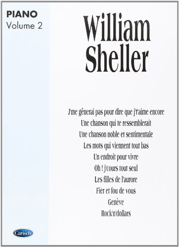 William sheller : album piano vol 2