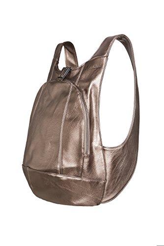 Sac à dos ARSAYO - Design, Confort, Sécurité (Bronze, Medium)