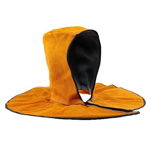 Schweißer-Helm Hut Schweißen Schutz Kopf Hals Flamme Feuer ritardente Helm von Schweißen Rettung hitzebeständig für (Kuh Erwachsene Hut)