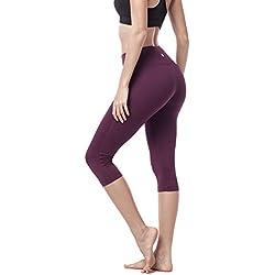 LAPASA Mallas Deportivas de Mujer (Leggings para Yoga, Pilates, Running) L02