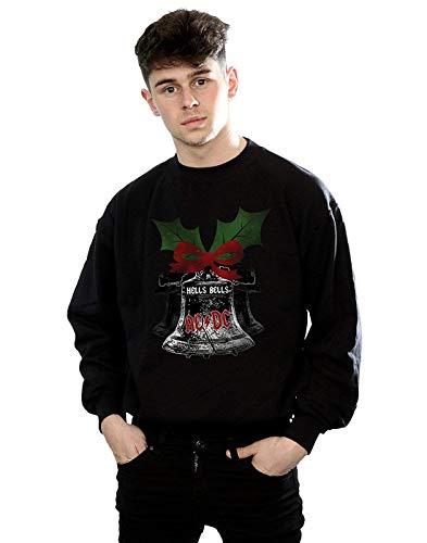 AC/DC Herren Christmas Hells Bells Sweatshirt X-Large Schwarz