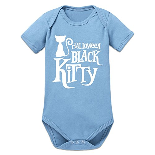 Shirtcity Halloween Black Kitty Baby Strampler by (Black Kitty Kostüm Baby)