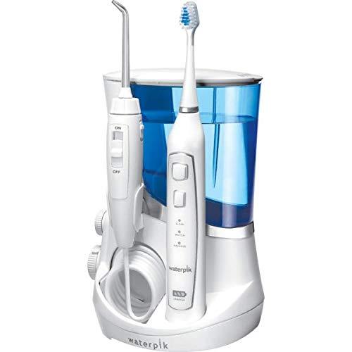 Waterpik Dental-Center Complete Care Center 5.0 WP-861E 2-in-1 Munddusche mit Schallzahnbürste -