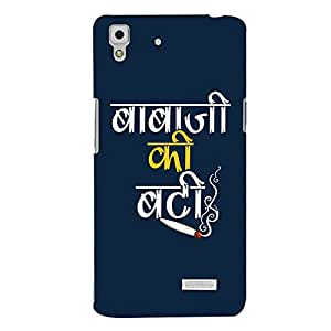 ColourCrust Oppo R7 Mobile Phone Back Cover With Baba Ji Ki Booty Quirky - Durable Matte Finish Hard Plastic Slim Case