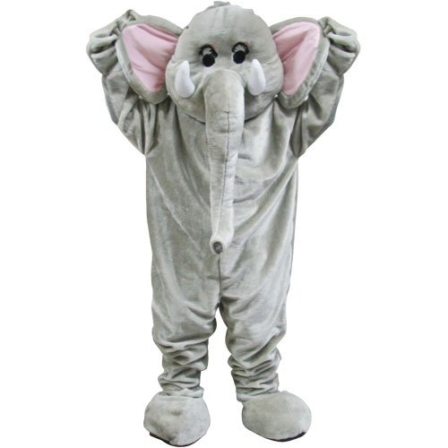 Riesiger Zirkus Elefant Maskottchen Halloween Verkleidung Karneval Tier Kostüm