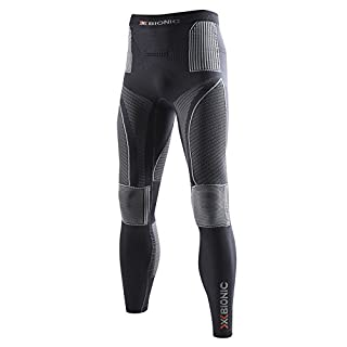 X-Bionic Erwachsene Funktionsbekleidung Man Acc Evo UW Pants Long, Charcoal/Pearl Grey, S/M