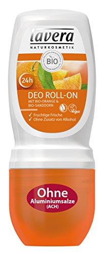 lavera Deo Roll On 24h Bio Orange ∙ Deodorant ohne Aluminium ∙ vegan ✔ Bio Pflanzenwirkstoffe ✔ Naturkosmetik ✔ Natural & innovative ✔ Körperpflege 1er Pack (1 x 50 ml)