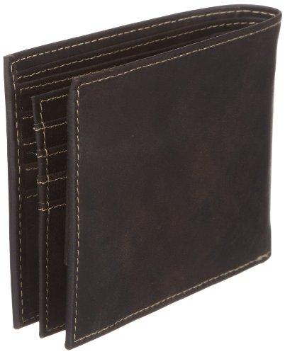 Pierre Cardin Antico 33302, Unisex - Erwachsene Portemonnaies 2x9x11 cm (B x H x T) Braun (Brown)