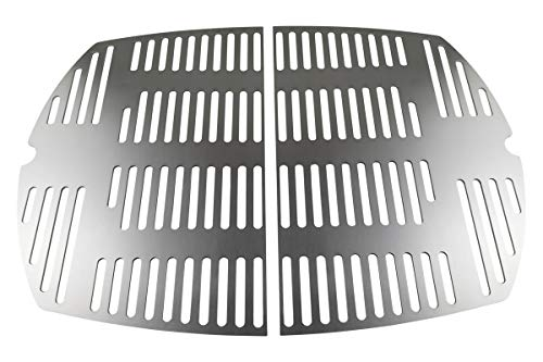 GURIRU Edelstahl Grillrost/Ersatzrost passend für alle Grills der Weber Q300 und Q3000 Baureihe
